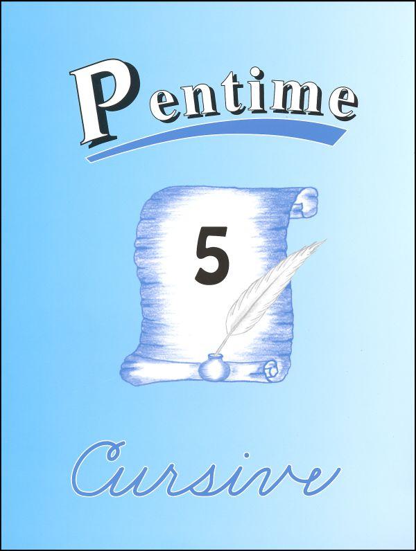 Pentime Penmanship Cursive 5
