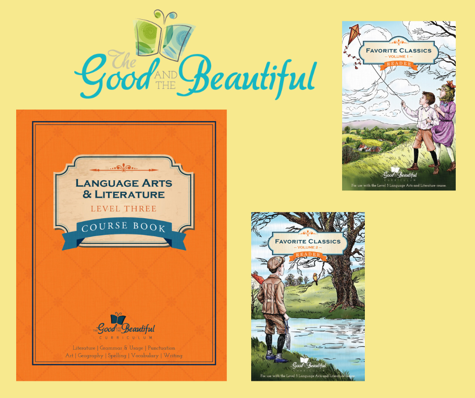 The Good and the Beautiful Language Arts 3