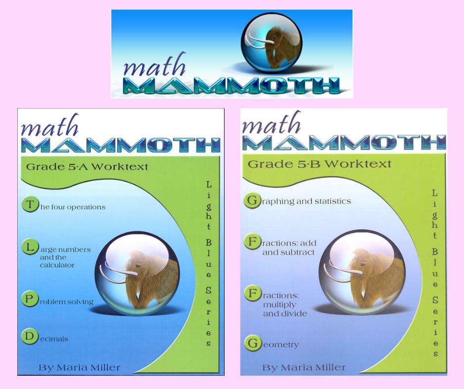math mammoth 5
