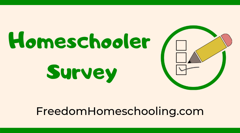 Homeschooler Survey