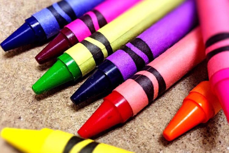 crayons 2nd grade curriculum