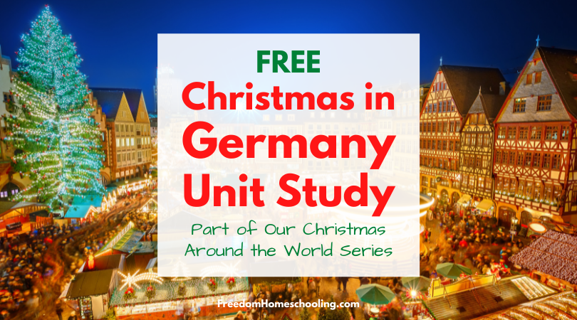 Free Christmas in Germany Unit Study