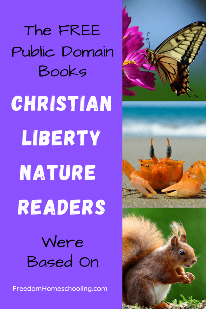 Free Christian Liberty Nature Readers