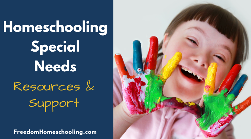 Special needs homeschooling resources and support