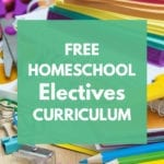 Free Homeschool Electives Curriculum
