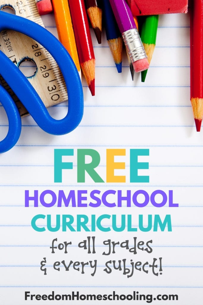 Free homeschool curriculum for all grades & every subject!