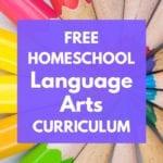 free homeschool language arts curriculum