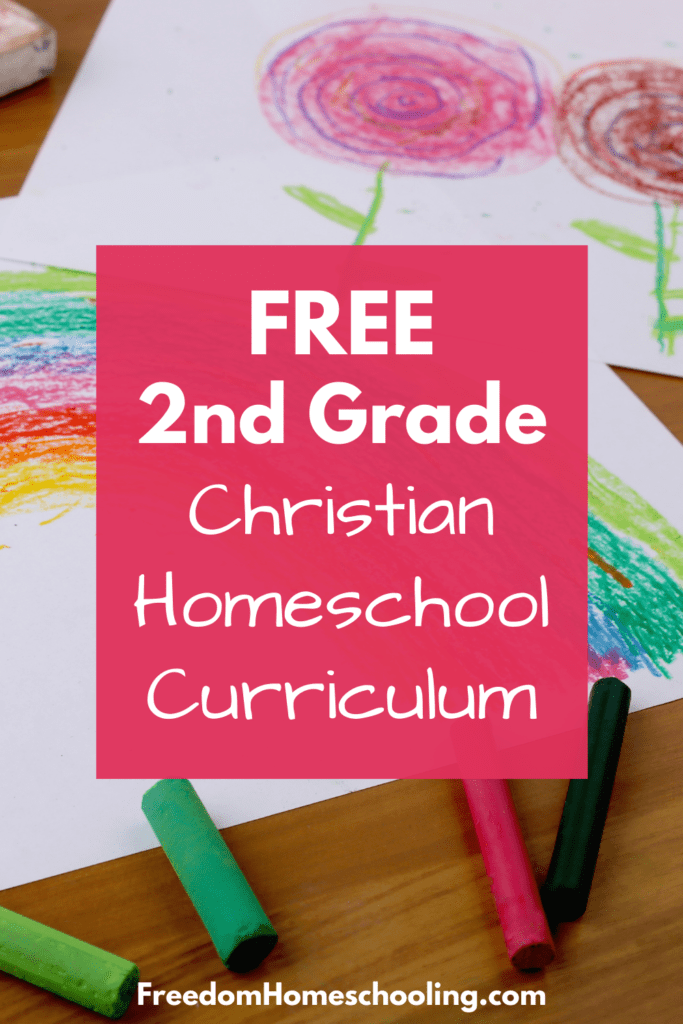 free 2nd grade christian homeschool curriculum
