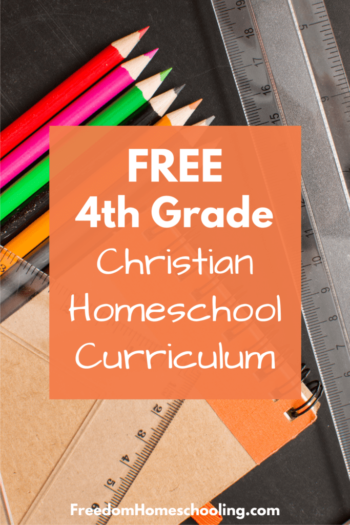 free 4th grade christian homeschool curriculum