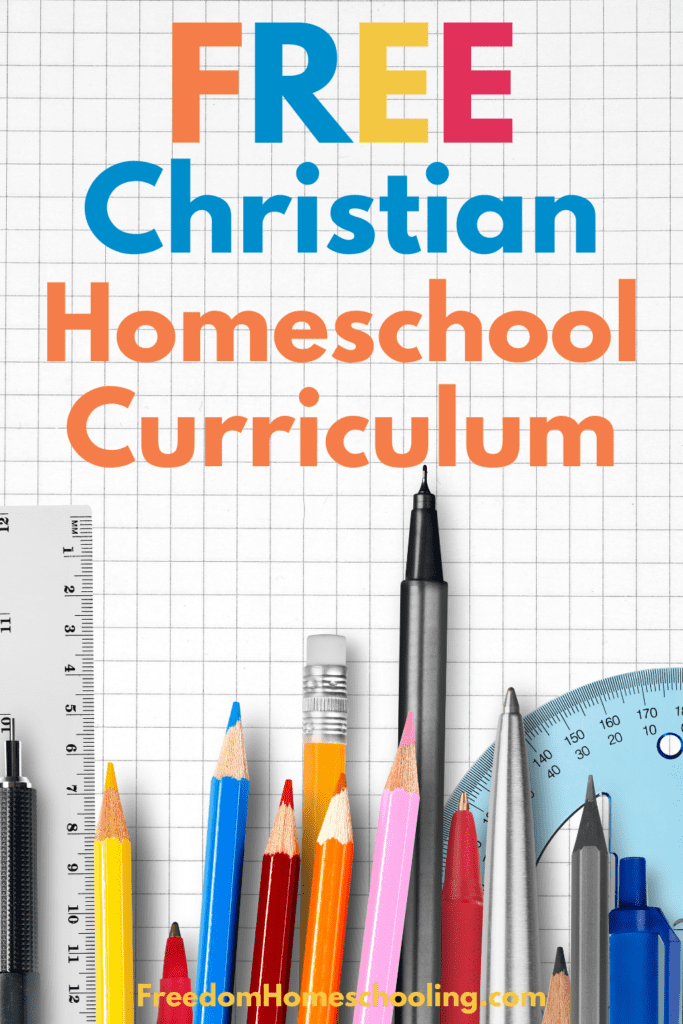 Free Christian Homeschool Curriculum