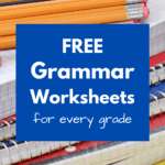 Free grammar worksheets for every grade