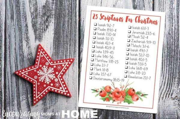 25 Bible verses for Christmas