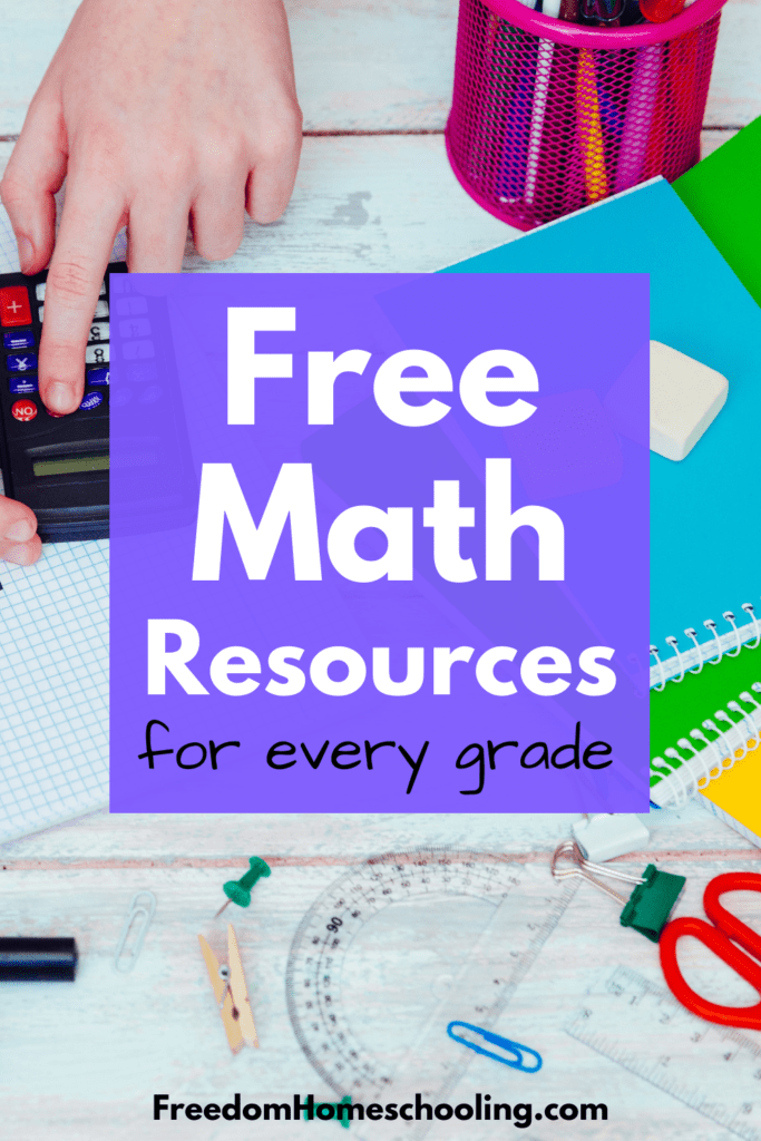 Free Math Resources for Every Grade