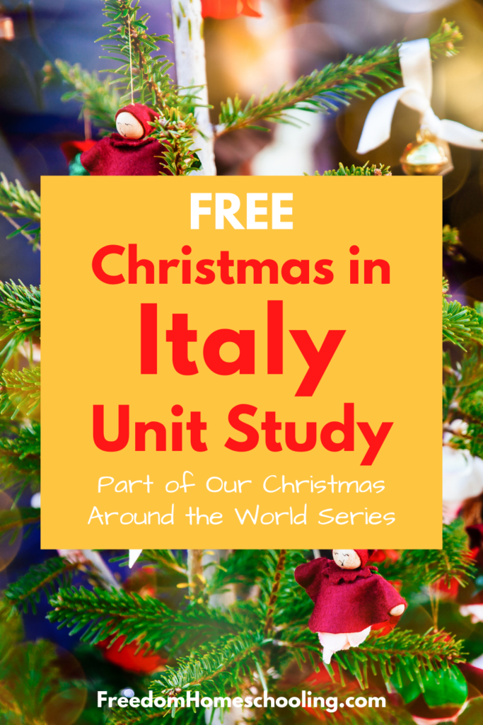 Free Christmas in Italy Unit Study