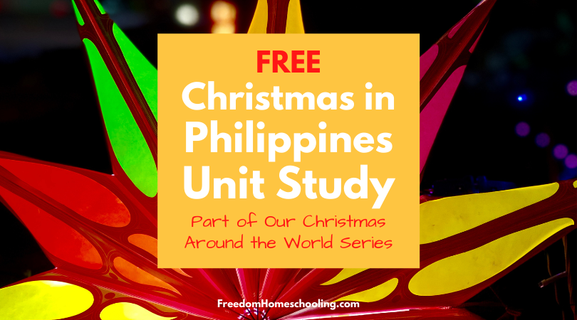 Christmas in the Philippines Unit Study