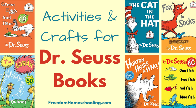 Activities and crafts for Dr. Seuss books
