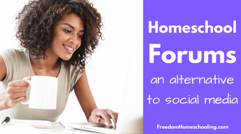 Homeschool Forums: An Alternative to Social Media