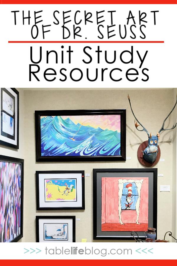 The Secret Art of Dr. Seuss Unit Study