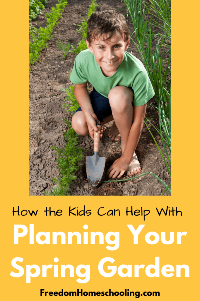 How the Kids Can Help With Planning Your Spring Garden