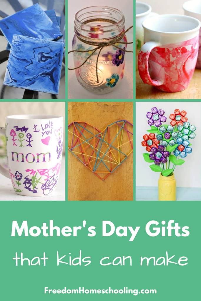 Mother's Day Gifts That Kids Can Make